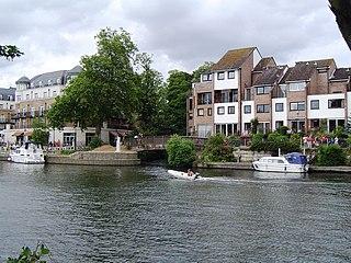 River Colne, Hertfordshire river in Hertfordshire, England