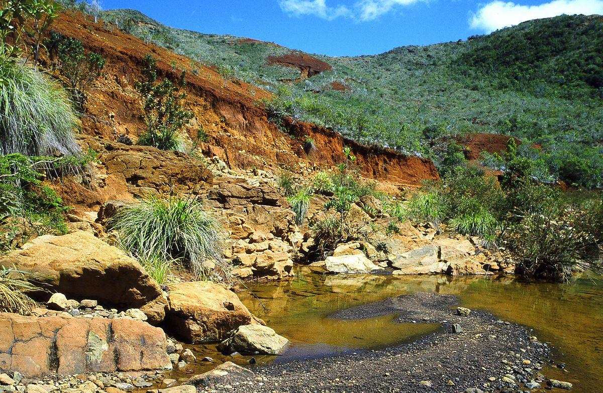 Nickel mining in new caledonia wikipedia for The caledonia