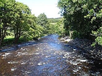 River Vyrnwy - Vyrnwy near Pont Llogel
