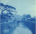 River and bridge in Nagasaki, Japan, ca 1899 (KIEHL 184).jpeg