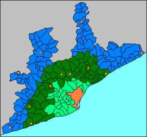 Barcelona metropolitan area - Barcelona metropolitan area