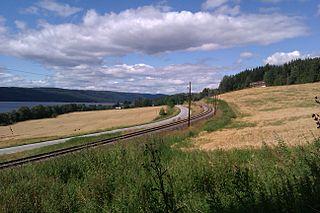 Roa–Hønefoss Line railway line
