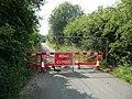 Road closure, Grange Lane, Whitley Upper - geograph.org.uk - 903680.jpg