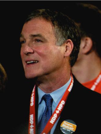 Nova Scotia general election, 1998 - Image: Robert Chisholm 2012 NDP Leadership Convention