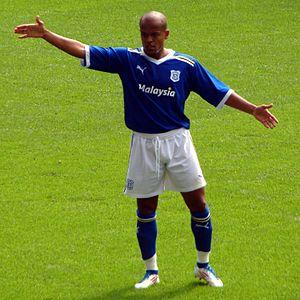 Robert Earnshaw - Earnshaw in action for Cardiff in 2011