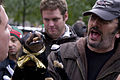 Robert Smigel and Triumph the Insult Comic Dog - Occupy Wall Street Zuccotti Park (10-28-11) (6295967625).jpg