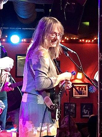 Robin Lane - Robin Lane performing in Somerville MA in 2019.