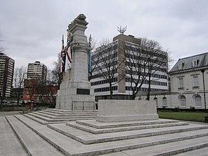 Rochdale Cenotaph - Image: Rochdale War Memorial (4)