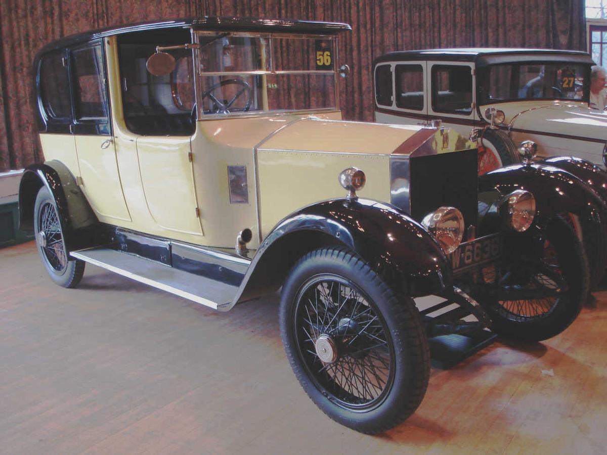 Rolls-Royce Twenty - Wikipedia