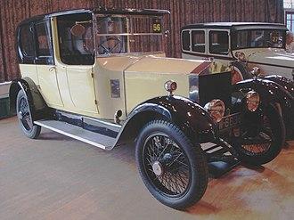 Rolls-Royce Twenty - Image: Rolls Royce 20hp
