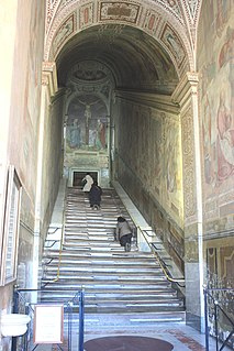 Scala Sancta Stairs in Rome
