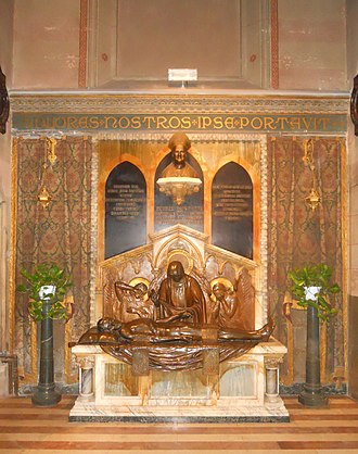 Chiesa del Sacro Cuore del Suffragio - Funeral monument of Monsignor Pietro Benedetti
