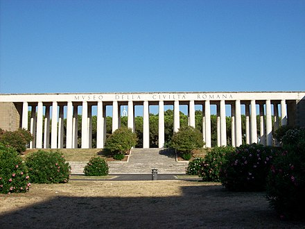 Museum of Roman Civilization, a museum in Rome devoted to aspects of the Ancient Roman civilization