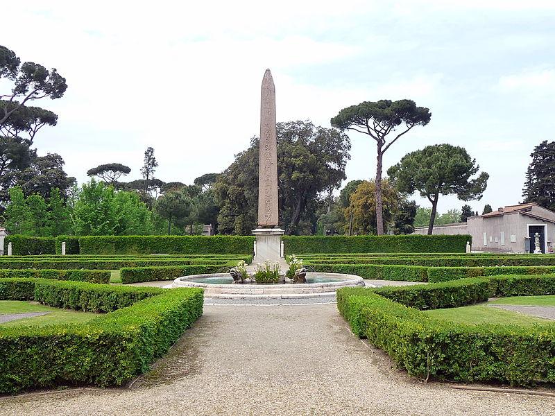 Roma villamedici obelisco.jpg