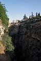 Ronda Spain - Cliffs and houses above Guadalevin River (18374525098).jpg