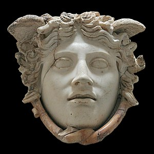 "So-called ""Rondanini Medusa"". Marble, Roman co..."