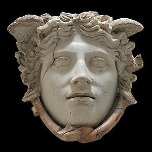 Medusa Rondanini - The Medusa Rondanini, marble (h. 0.29 m)