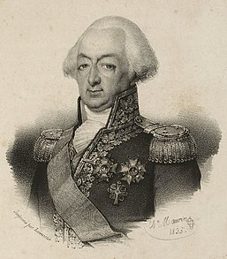 François Étienne de Rosily-Mesros French naval commander of the French Revolutionary Wars and Napoleonic Wars