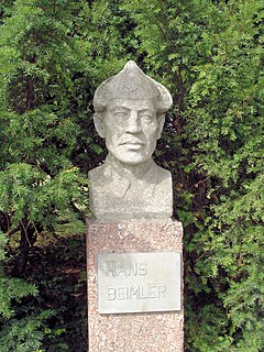 Hans Beimler (communist) German politician (1895-1936)