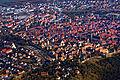 Rothenburg ob der Tauber an einem etwas trüben Februartag aus dem Gyrocopter fotografiert. 03.jpg