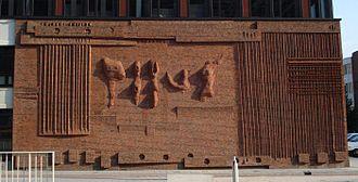 1955 in art - Image: Rotterdam kunstwerk Wall Relief no.1