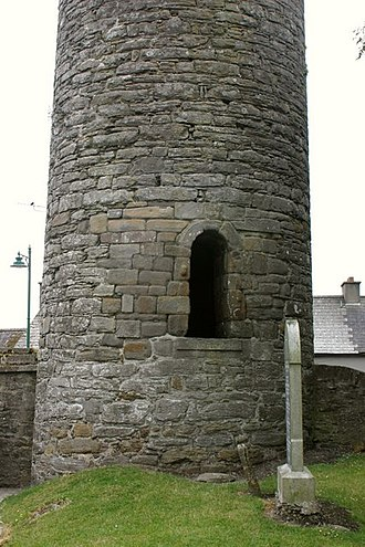 Kells Round Tower - Tower entrance