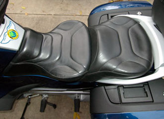 Motorcycle saddle - Image: Rt saddle