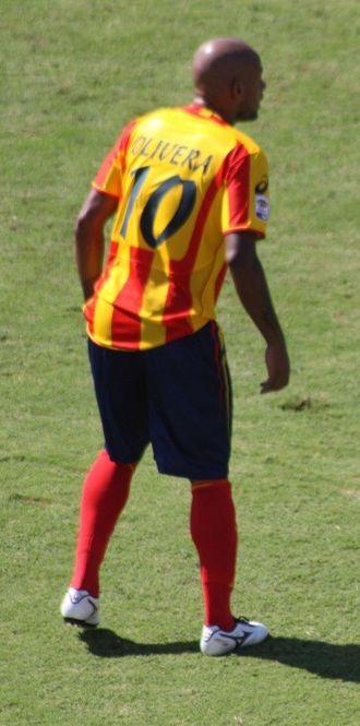 Rubén Olivera - Olivera with Lecce in 2012