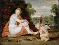 Rubens, Sir Peter Paul - Venus and Cupid warming themselves (Venus frigida) - Google Art Project.jpg