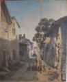 Rue de saint Fortunat - Ernest ROMAN (attribué à).png