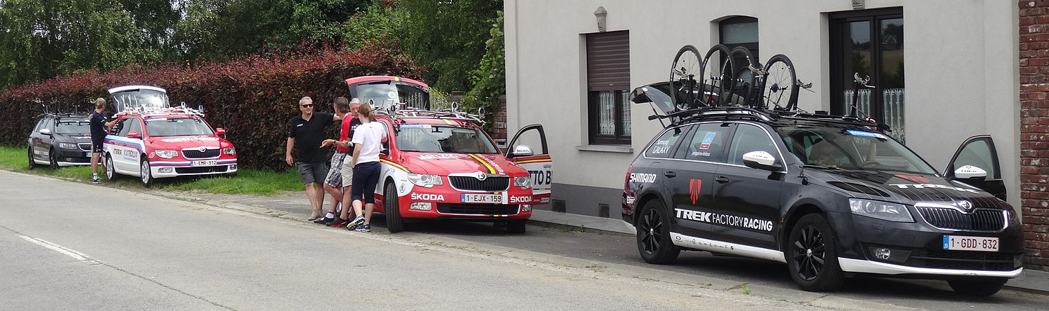 Rumillies (Tournai) - Tour de Wallonie, étape 1, 26 juillet 2014, ravitaillement (A02).JPG