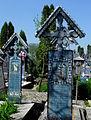 Rumunia, Sapanta, Wesoły Cmentarz(Aw58)12.JPG