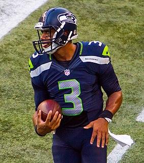 Russell Wilson American football quarterback