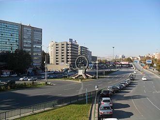 Sıhhiye Square - Sıhhiye Square in Ankara, Turkey seen from Southeast