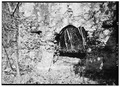 SALLY PORT IN SOUTH CURTAIN WALL, DETAIL, FROM SOUTH - Frederiks Fort, Fortberg Hill, Coral Bay, St. John, VI HABS VI,2-CORBA,1-4.tif