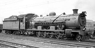 4-8-2 locomotive wheel arrangement