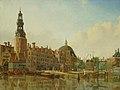 SA 20797-De Haringpakkerstoren gezien vanaf het IJ-De Haringpakkerstoren gezien naar de Haarlemmersluis.jpg