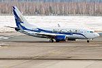 SCAT Airlines, LY-AZV, Boeing 737-7GL (25771666011).jpg