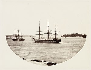 SLNSW 479644 141 HMS Clio at Anchor in Farm Cove.jpg