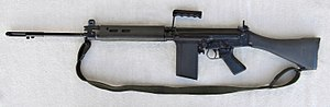 Rhodesian Light Infantry - A British-made L1A1 SLR