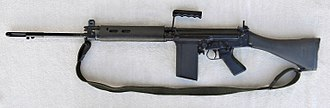 Semi-automatic rifle - L1A1 Self-Loading Rifle
