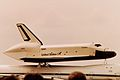 SPACE SHUTTLE ENTERPRISE SALON DU BOURGET 1983 (16134680169).jpg
