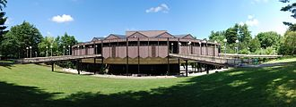 Saratoga Performing Arts Center - Image: SPAC Exterior