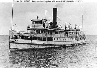 USS <i>Sappho</i> (SP-1427)