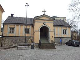 Sabbatbjerges kirke i marts 2012.