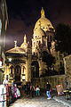 Sacré-Cœur de Montmartre at night, 12 August 2013.jpg