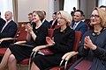 Saeimas priekšsēdētāja piedalās Latvijas simtgadei un Satversmes pieņemšanas 96.gadadienai veltītajā pasākumā Satversmes tiesā (40236792992).jpg