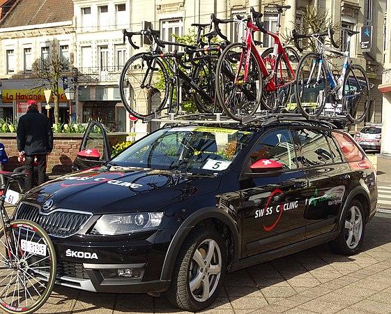 Saint-Amand-les-Eaux - Paris-Roubaix juniors, 12 avril 2015, départ (A19).JPG