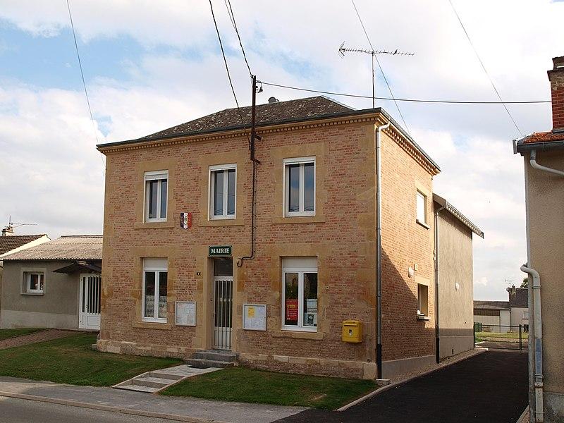 Saint-Pierre-à-Arnes (Ardennes, France); mairie