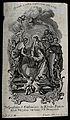 Saint Catherine of Ricci. Engraving by C. Klauber. Wellcome V0031848.jpg